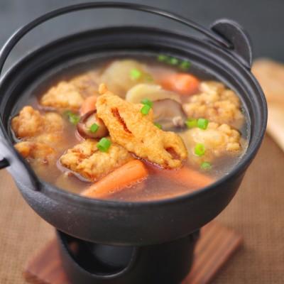 热乎乎来一碗鲜掉眉毛的酥肉煲汤——砂锅酥肉