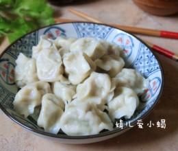 肉馅儿好吃的秘诀---鲜香可口的三鲜饺子