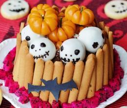#烘趴女王#万圣节主题蛋糕之小鬼当家