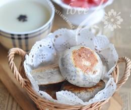 黑芝麻肉松饼
