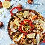 品嘗異國風味料理『西班牙海鮮飯』