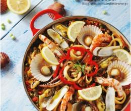 品尝异国风味料理『西班牙海鲜饭』