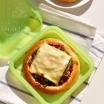 #新浪美食开学季#爱心便当包里的全能量披萨!(乐葵产品试用)