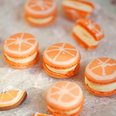 香橙马卡龙