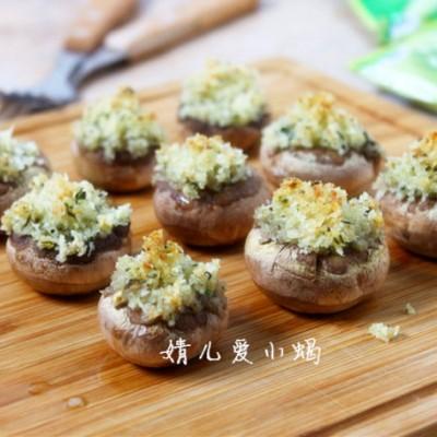 15分钟就能搞定一道菜-----香酥烤蘑菇