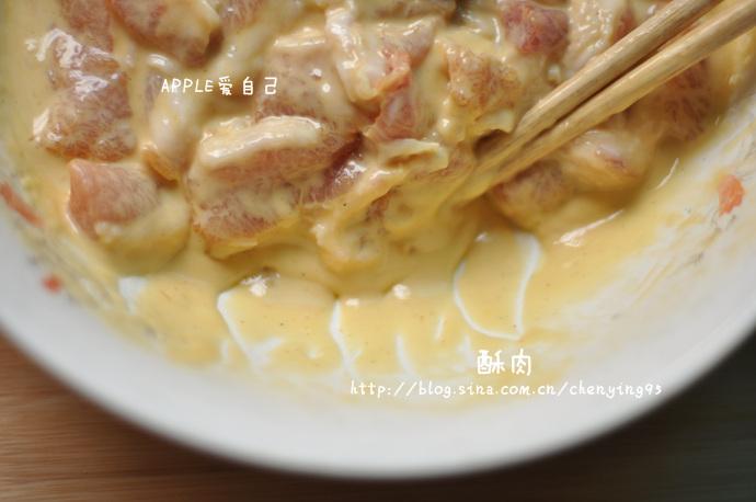 【大冷天嗜肉族最爱大图详解酥肉做法】