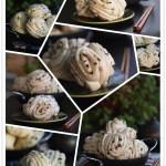 不沾手零失败面包机发面法做培根香葱花卷