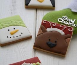 4款必学的圣诞卡通饼干--圣诞糖霜饼干(一)