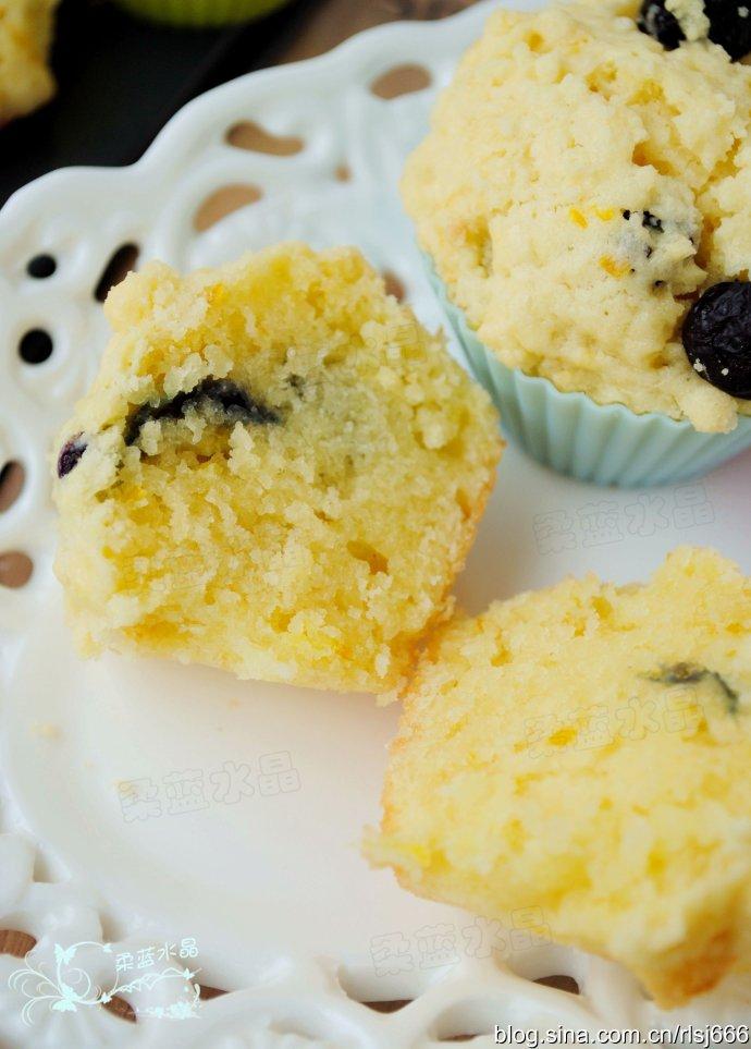 在家就能品尝到的法国甜点—PH的蓝莓马芬