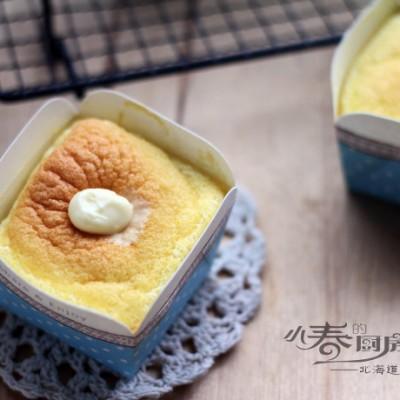 像冰激凌一样入口即化的蛋糕——北海道戚风蛋糕