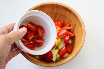 一碗打尽的全营养晚餐【凉拌意面沙拉】