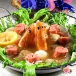 一个人的火锅也精彩----高汤大虾什锦火锅