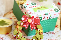 圣诞花环饼干