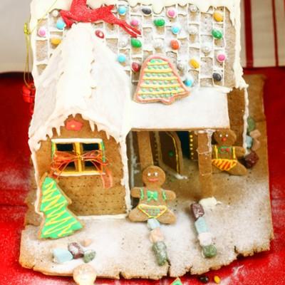 极具梦幻气氛的圣诞节---圣诞姜饼屋