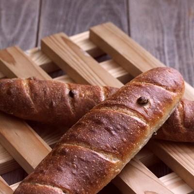 老式葡萄干黑麦软面包-古早味
