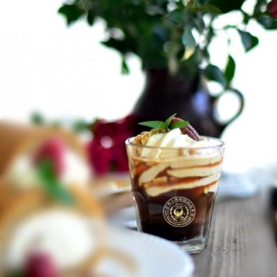 松子核桃奶油咖啡