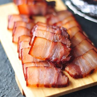 #九州筵席#腊月里来迎新年,红火火的腊肉晒起来