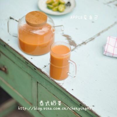 【大图详解10分钟自制美味香醇的泰式奶茶】。