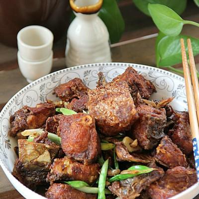 #九州筵席#游子惦念的年菜五香青鱼块