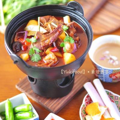 #九州筵席#乾隆皇帝过年必吃火锅:红焖羊肉火锅