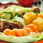 #九州筵席#如何做一锅鲜美绝伦的极品煲(老公家祖传的年菜)