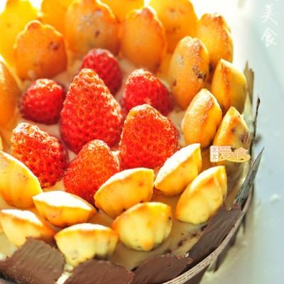 #九州筵席#plus爱意浓浓的奶油酱玛德琳蛋糕(附奶油酱和红丝绒蛋糕做法)