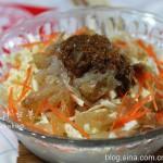 #九州筵席#最受欢迎的下酒菜--海蜇头拌白菜