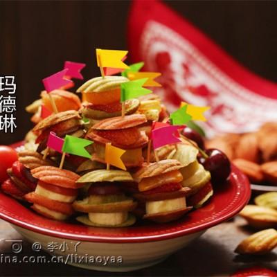 #九州筵席#plus-贺新年缤纷鲜果玛德琳