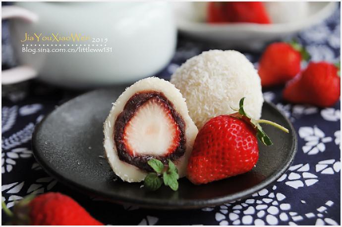 根本停不下来的生吃元宵【草莓大福】