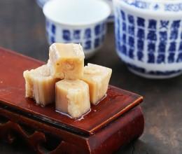 江南独具特色的甜品乌梅糯米藕