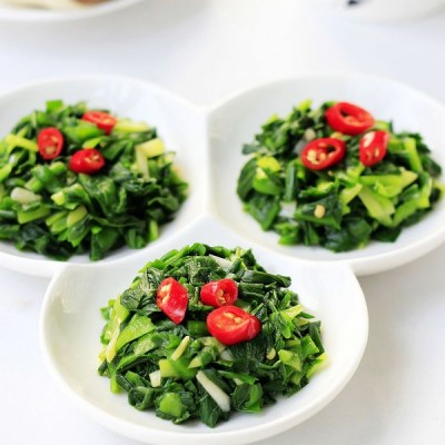 节后清理肠胃的腌韭菜