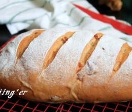 初春的温暖----全麦红糖桂圆面包