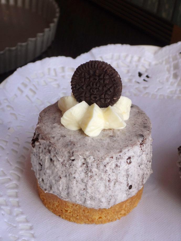 给奥利奥控的【奥利奥芝士蛋糕】(免烤)