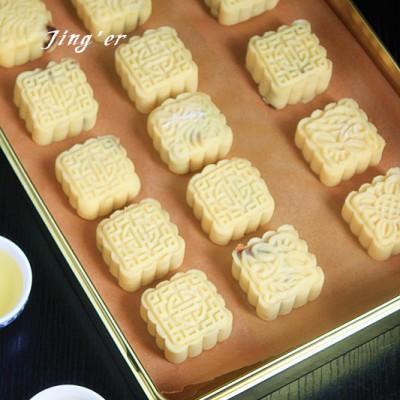 自制中式传统点心----绿豆糕