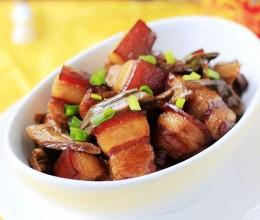 竹香四溢的石笋干红烧肉