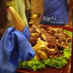 【品】驚掉下巴的霸氣牛頭宴——尋找科爾沁美食(2)