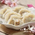 肉质细嫩,弹性十足的虾肉水饺