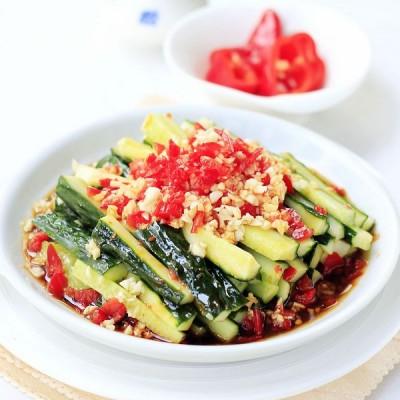 最受欢迎的懒人菜——蒜泥黄瓜