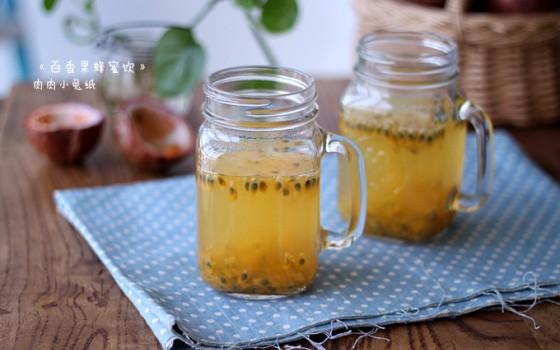 《百香果蜂蜜饮》