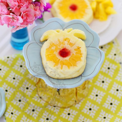 菠萝酸奶蛋糕