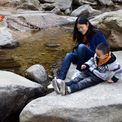 亲子游:山美水美的黑龙潭景区