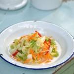 夏天不可错过。【酸甜爽口多图详解台式泡菜做法】。