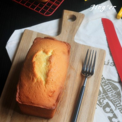 详解小嶋老师的经典完美磅蛋糕----原味磅蛋糕