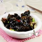 佐粥下饭小菜---炝炒野生黑木耳