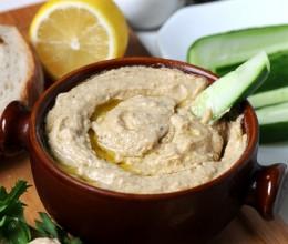 夏日低脂清新万能沾酱--Hummus(胡姆斯酱)附芝麻酱