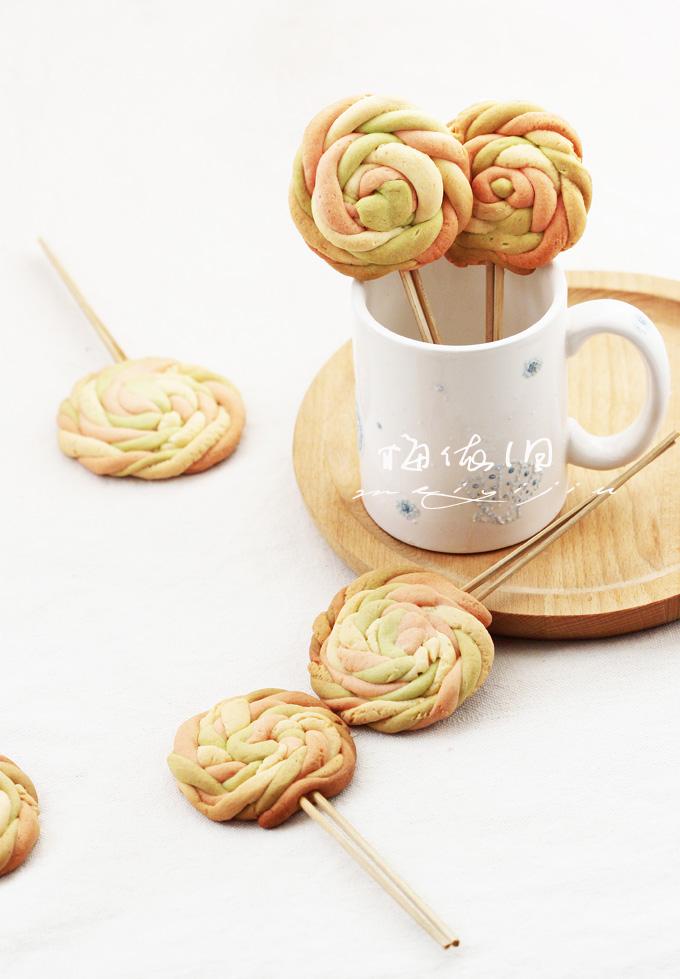 彩色棒棒糖饼干庆六一