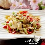 #美食感恩季#---鲜美极致的温拌海螺肉
