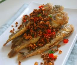 中国江南端午节食俗吃五黄:【蒜香小黄鱼】