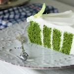 【复古风抹茶涡旋蛋糕】:幸福感爆棚的美味蛋糕