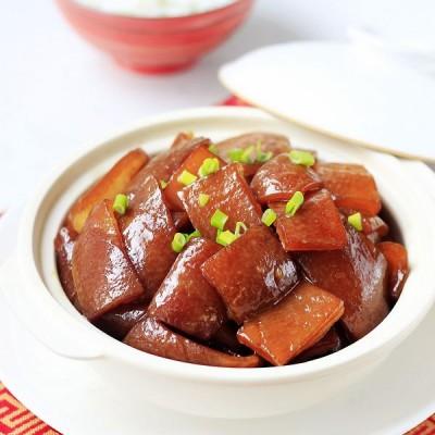 补充胶原蛋白的美容菜红烧肉皮